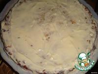 Закусочный торт из курицы с сыром ингредиенты