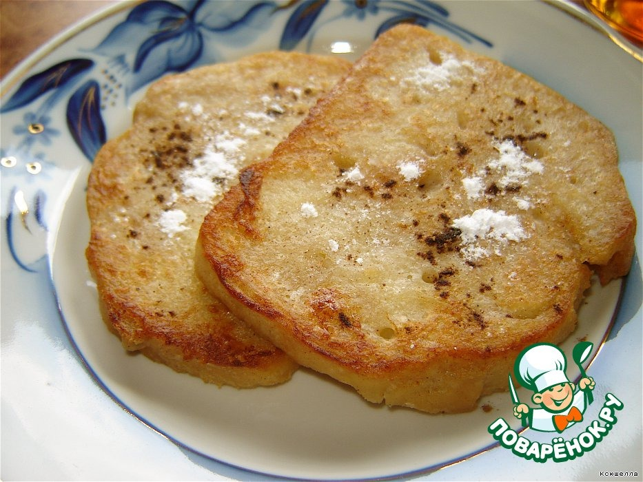 Банановые французские тосты
