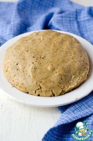 Knead the dough.  Cool it in the refrigerator for one hour.