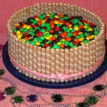 Новогодний торт Конфетти