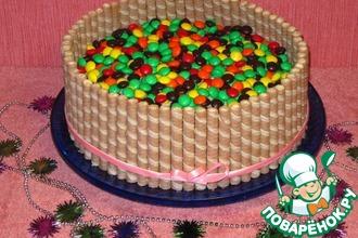 Рецепт: Новогодний торт Конфетти