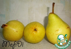 Here are my pears. Grade not know took what was in the store. They taste sweet, but not too soft. Such we need.