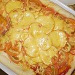 Пицца с очень вкусным тестом