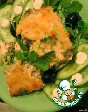 Добавляем немного свежей зелени и овощей.   Приятнейшего Вам аппетита! :)