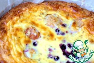 Рецепт: Грушевый пирог с лавандой