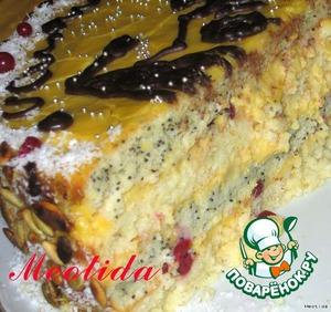 Оставляем тортик немного настояться...   .. нарезаем кусочками...   и наслаждаемся нежнейшим лакомством, после поедания которого любые знания будут даваться Вам легко и непринужденно...   Приятнейшего Вам аппетита! :)