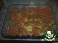 Горячее из курицы Дипломат ингредиенты