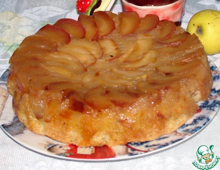 Рецепт: Янтарный торт от Т. Л. Толстой