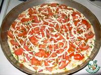 """Вкусная быстро-пицца """"из того, что было"""" ингредиенты"""