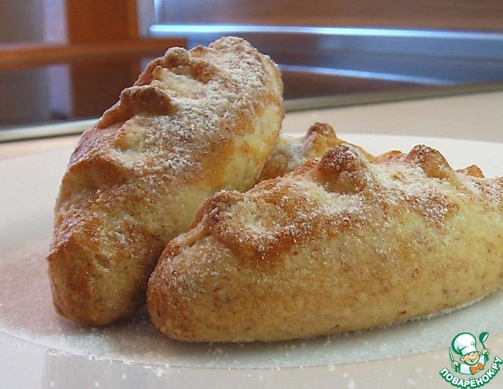 Рецепт: Пирожки творожные с джемом
