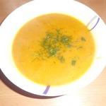 Тыквенный кремовый суп