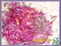 Салат из красной капусты с мандаринами и орехами ингредиенты