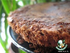 Основа сделана с применением шоколадной пасты «Нутелла», но можно делать простую основу из молотого печенья и масла (150 г молотого печенья + 50 г растопленного масла).   Моя основа с орехово-шоколадным вкусом.