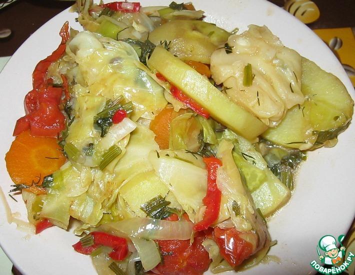 Рецепт: Вегетарианская домляма