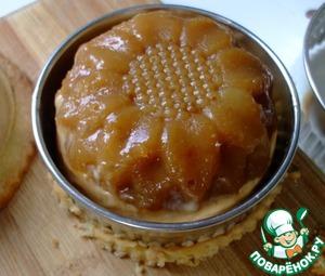 Перед подачей опустить силиконовую поверхность формочек на 5-10 секунд в горячую воду. Аккуратно извлечь пирожные из форм.