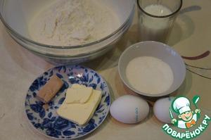 Подготовить продукты для теста.