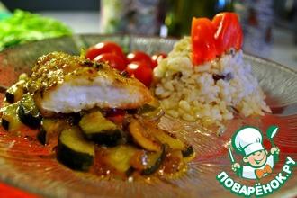 Рецепт: Рыба жареная в измельчённых картофельных или рисовых чипсах