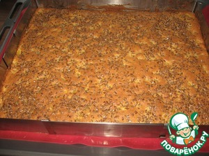 Bake in a preheated 180 (blowing up to 160 degrees) oven for 40-45 minutes.  If there is much brown in the end cover with foil.