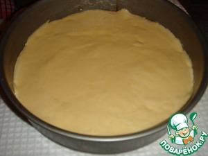 Put the dough.