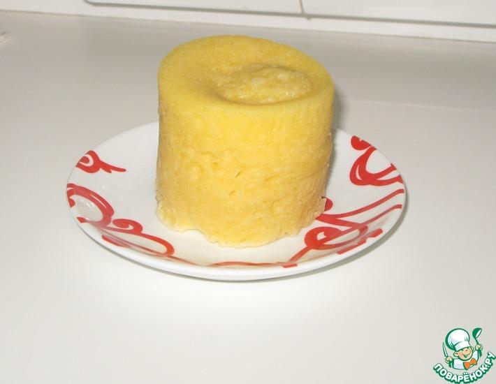 Рецепт: Десерт на завтрак из микроволновки