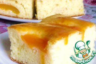 Рецепт: Абрикосовый пирог от Александа Селезнева