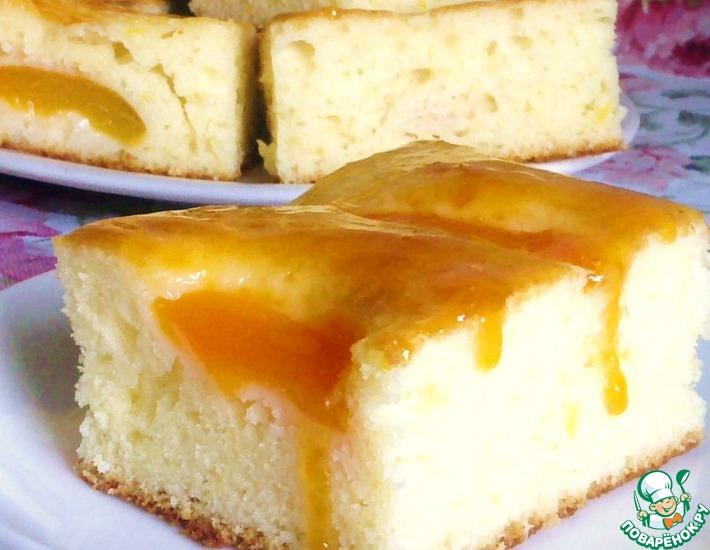 Рецепт: Абрикосовый пирог от Александра Селезнева
