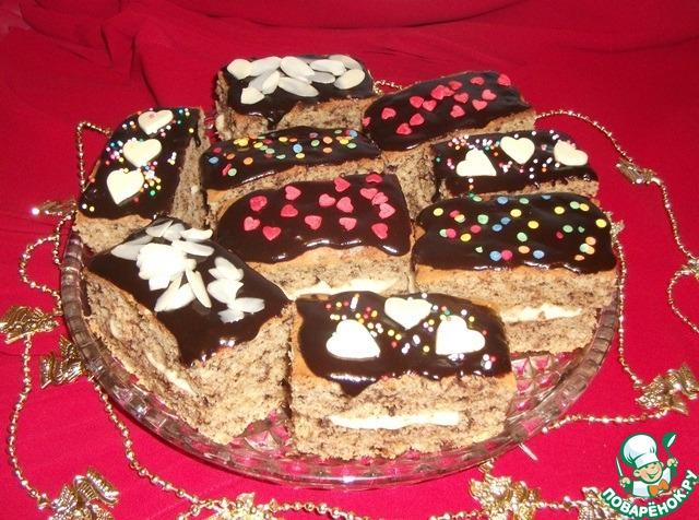Имбирно-шоколадные пряники