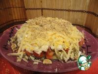 Слоеный салат из баклажанов ингредиенты