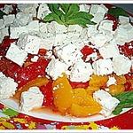 Сладкие перцы с сыром
