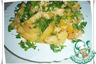 Рецепт: Картофель в микроволновке