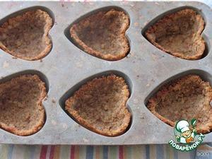 Ставим их в горячую духовку (180 градусов) на 20 минут.   Вынимаем и оставляем остывать в форме.