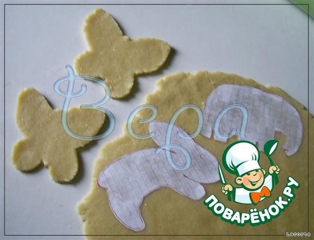 Зоо-печенье