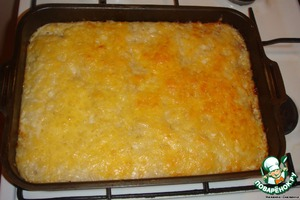 And here is our casserole is ready.