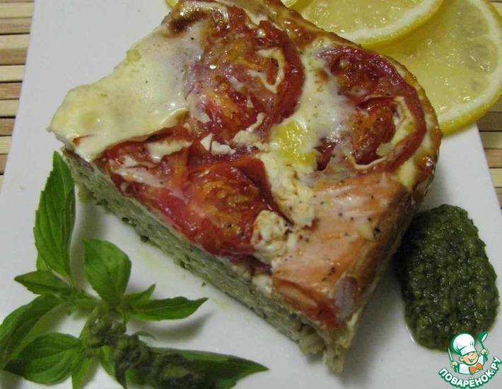Рецепт: Запеканка из лосося