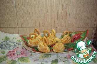 Рецепт: Закуска Лебеди под водочку