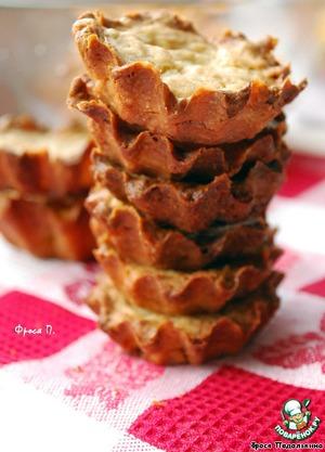 Тарталетки с яблочным самбуком – кулинарный рецепт