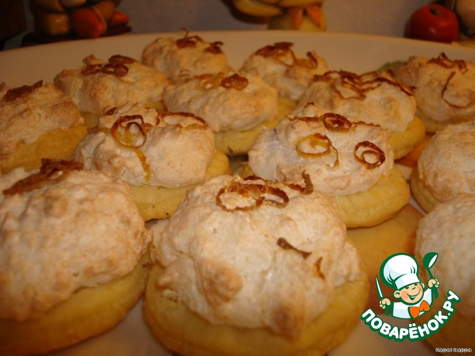 Печенье лимонно-кокосовое