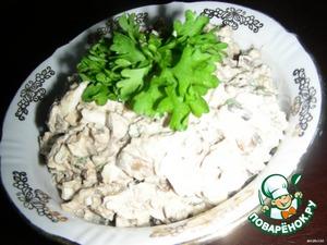 Печеночный салат – кулинарный рецепт