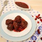 Медовый чизкейк с клюквенным соусом, пошаговый рецепт с фото