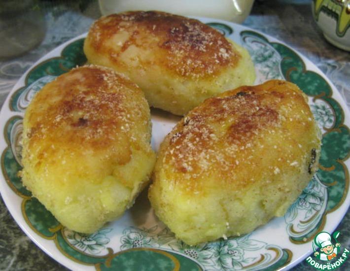 Рецепт: Картофельные пирожки с мясом и орешками