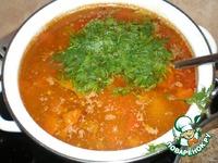 Гречневый суп ингредиенты