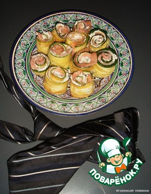 Rolls spread on a plate and served to the table.  Bon appetit!