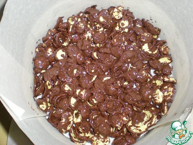 Творожно-сливовый торт