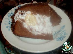 """Торт """"Бананы в снегу"""" – кулинарный рецепт"""