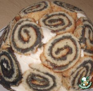 """Торт """"Черепашка"""" – кулинарный рецепт"""