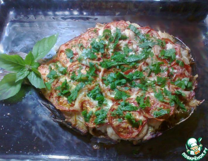 Рецепт: Коктал из рыбы