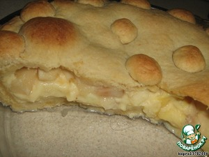 Баскский пирог с яблоками – кулинарный рецепт