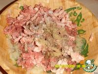 Мясные  кутабы с зернами граната ингредиенты