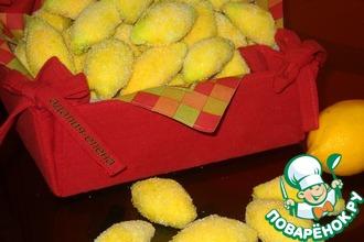 Рецепт: Печенье Лимончики