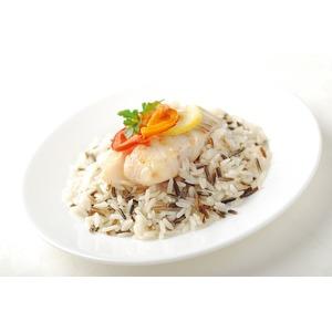 Тилапия с рисом